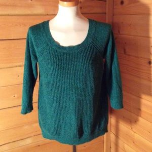 Ann Taylor Sweater Size Medium Teal
